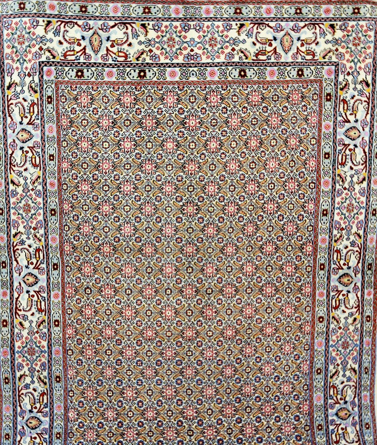 Superfine Silk Inlaid Mood Rug