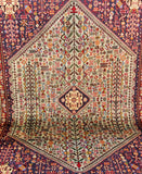 Vintage Persian Abadeh Rug