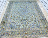 Large Room Size Kashan Rug