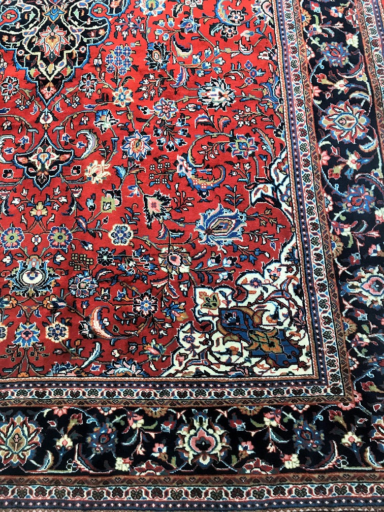 Kork Wool Sarough Persian Rug