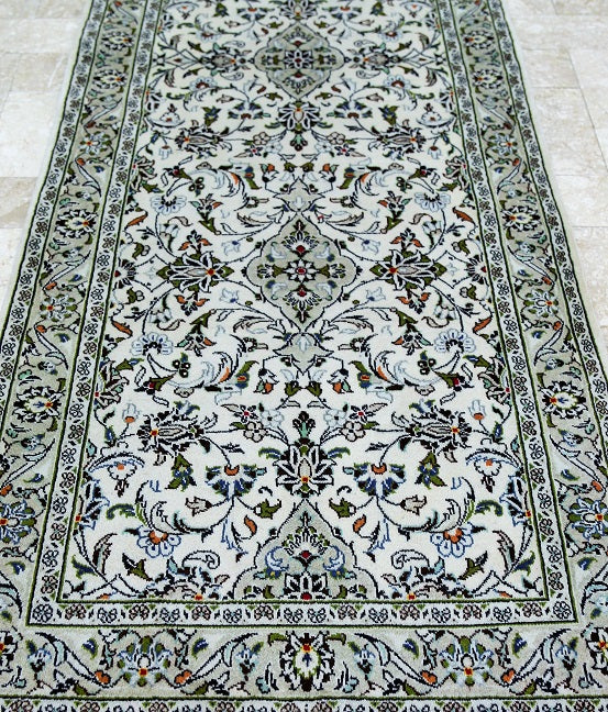3m Kashan Persian Runner