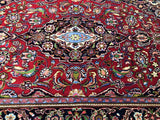 Lambs wool Persian Kashan Rug