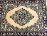 Singed Allover Design Kashan