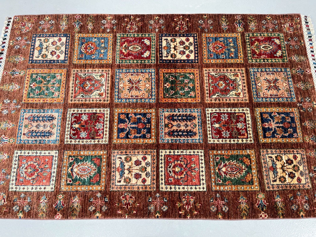 3x2m Tribal Persian Quchan Rug