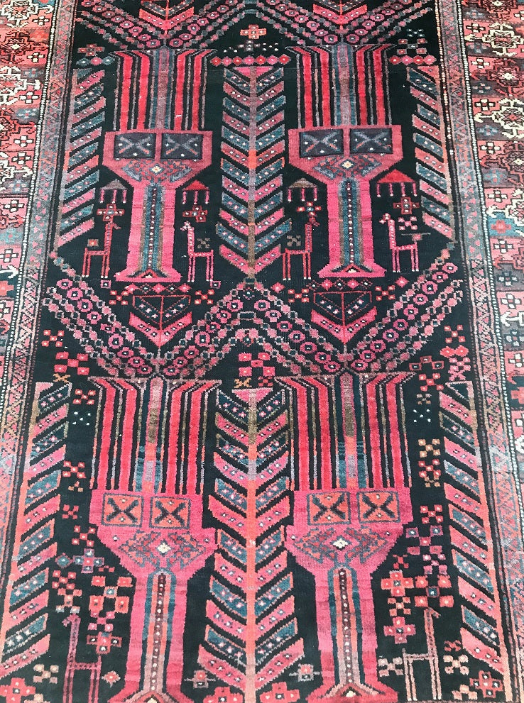 Antique Zabol Persian Rug