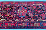 Antique Mohajeran Persian Rug