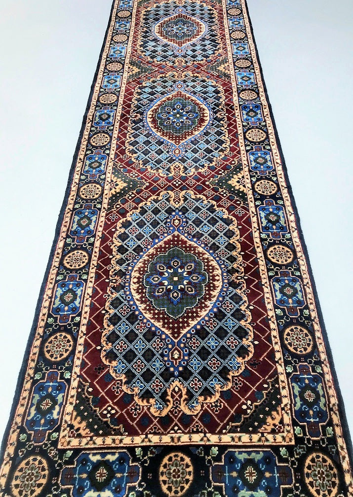 3m Traditional Afghan Runner