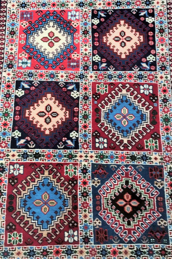 Tribal Yalameh Persian Rug