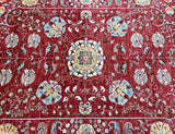 Duck Egg Blue Persian Rug