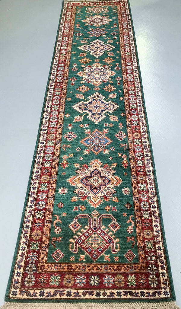 green_Persian_hall_runner