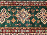 Emerald Green Super Kazak Runner