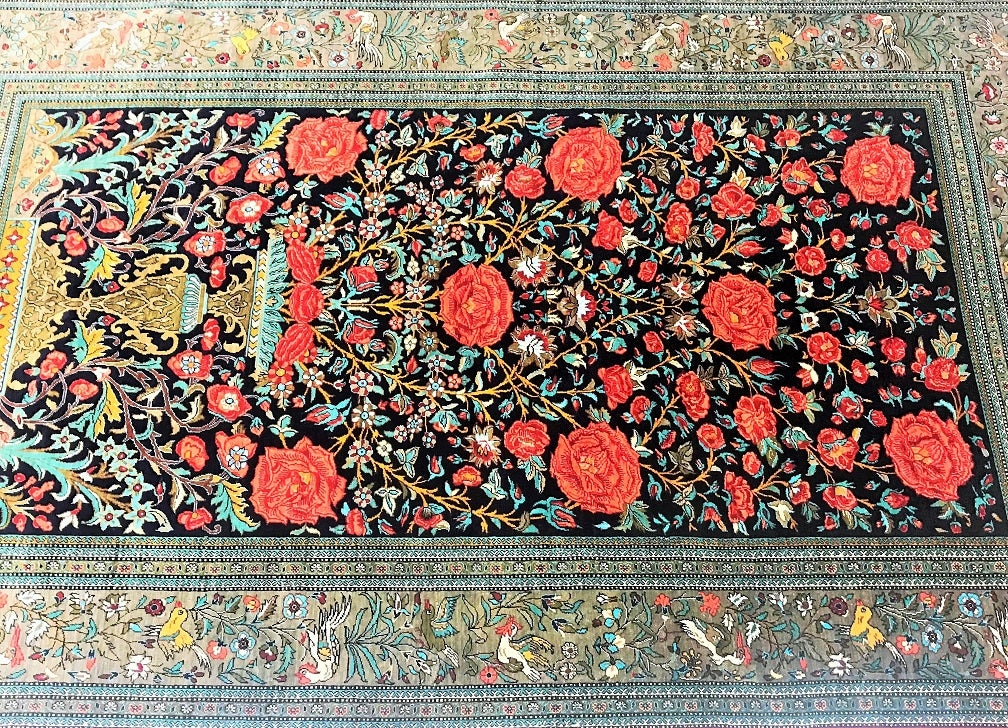 pure_Silk_Persian_Qum_rug