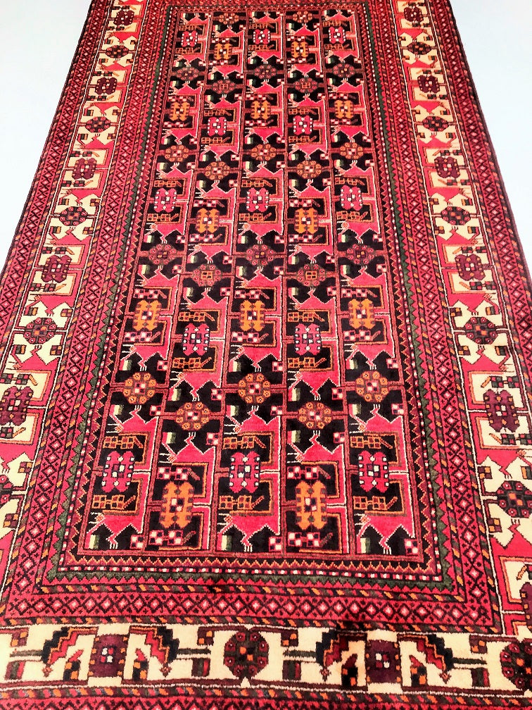 Tribal Quchan Persian Rug