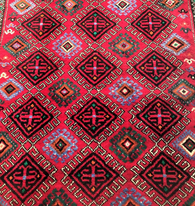 Tribal Kurdi Persian Rug