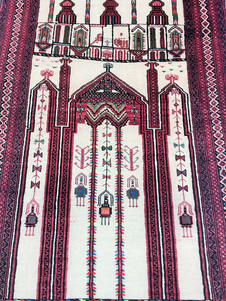 Vintage Persian Prayer Rug