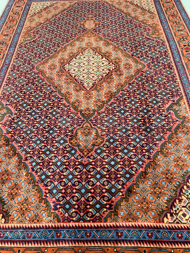 Fish Design Ardebil Persian Rug