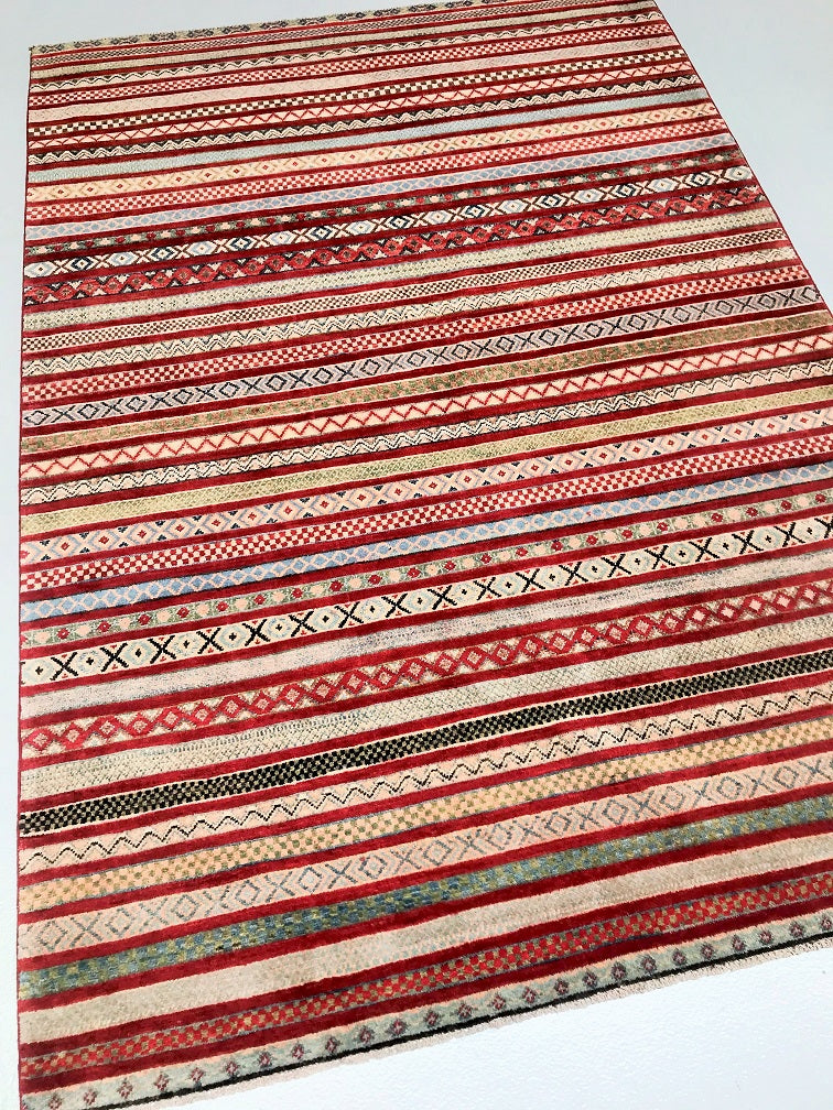 Shawl Design Kazak Rug