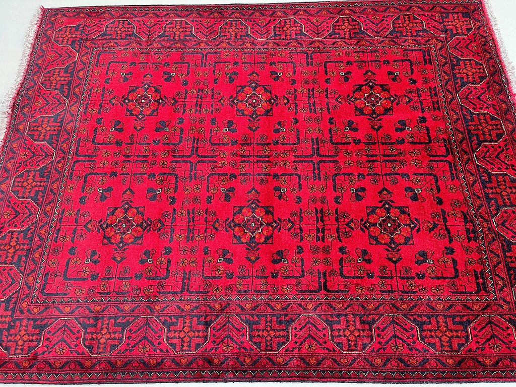 Amazing Super Kazak Rug