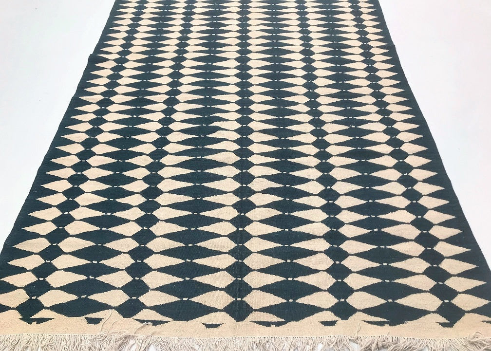 Contemporary Waziri Kilim Rug