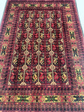 Superb Tribal Afghan Rug