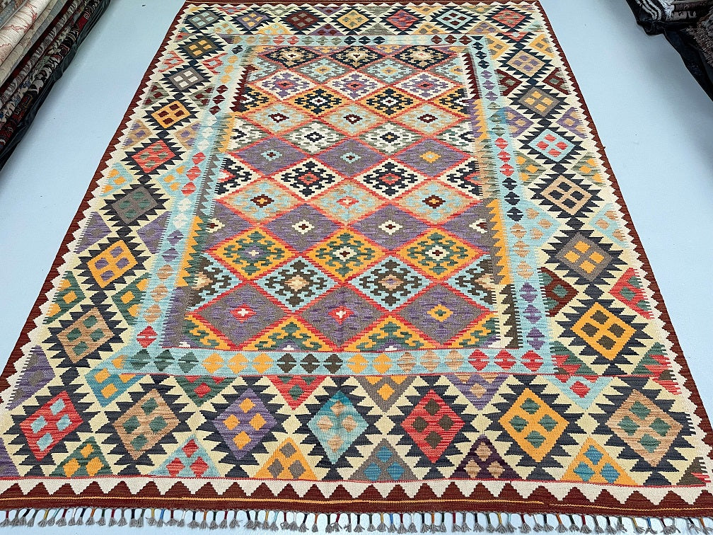 William Morris Design Chobi Rug