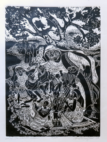 Let the Children Come, Original Print, 25