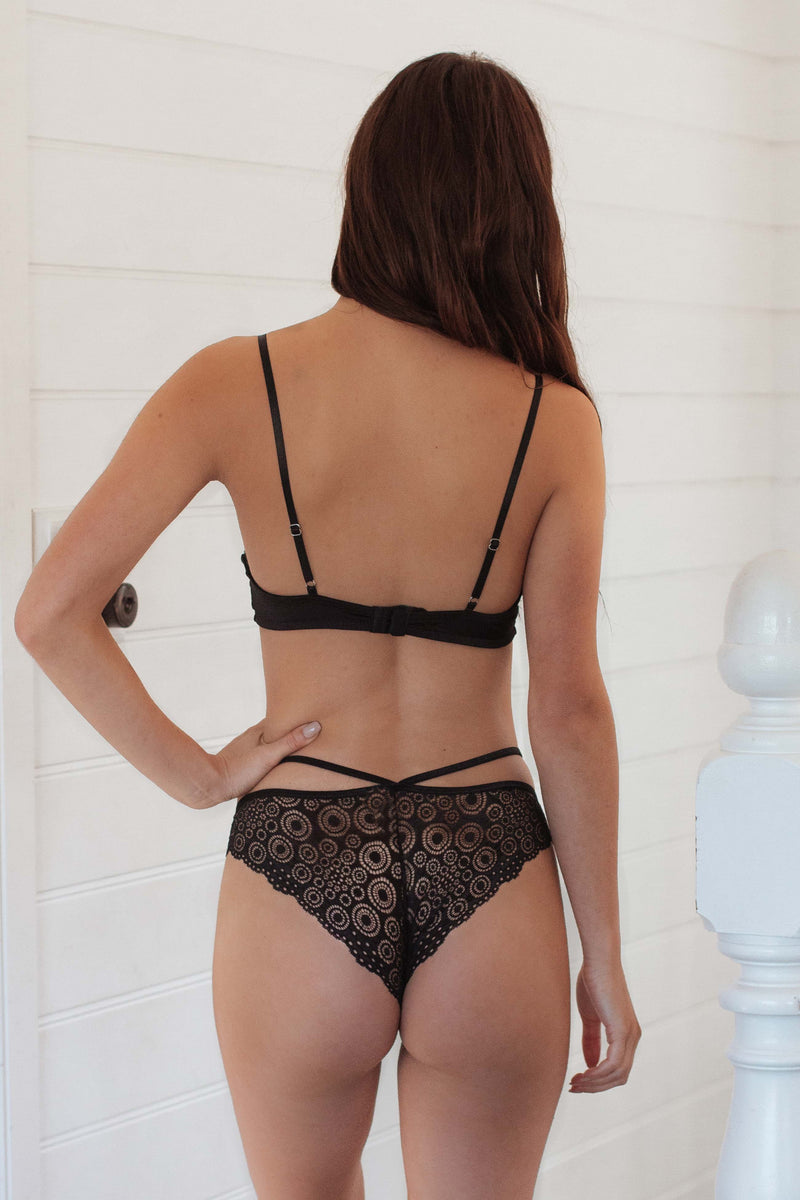 Chloe Bottom Black - Forever and a day intimates