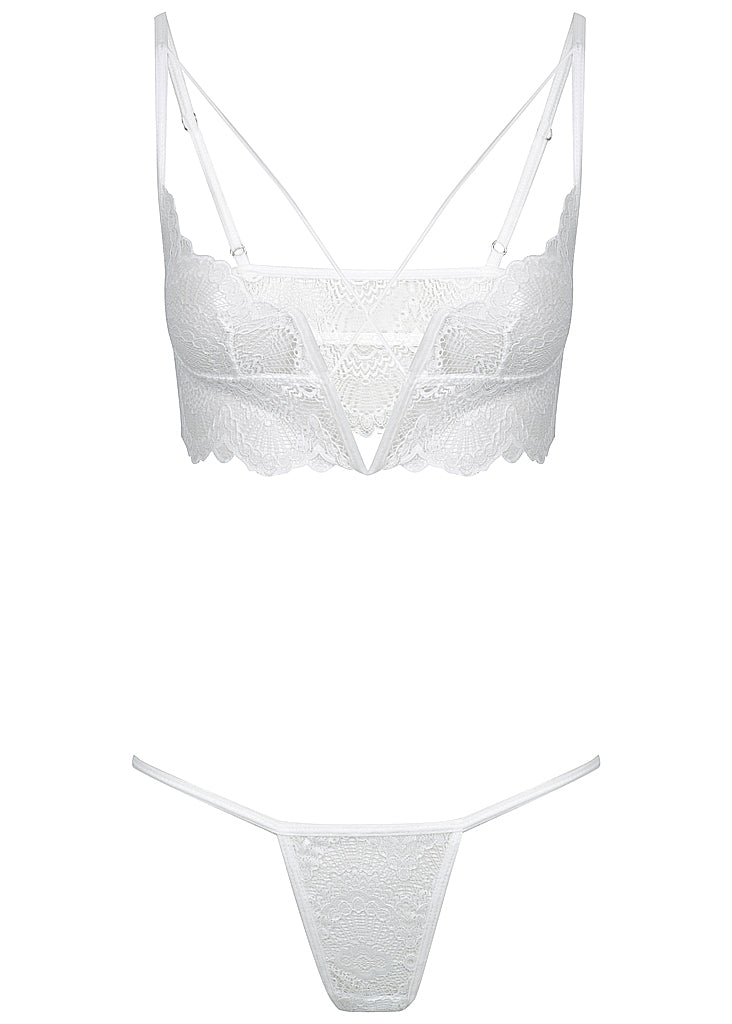 Baxter set white - Forever and a day intimates