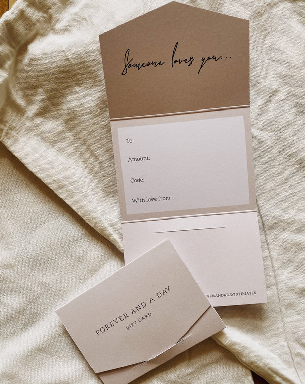 Gift Card - Forever and a day intimates