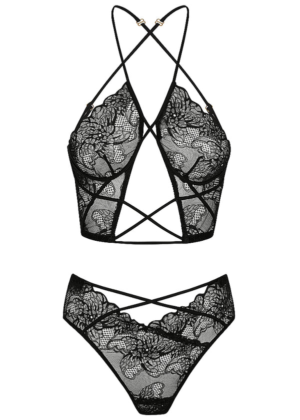 Emerson set black - Forever and a day intimates