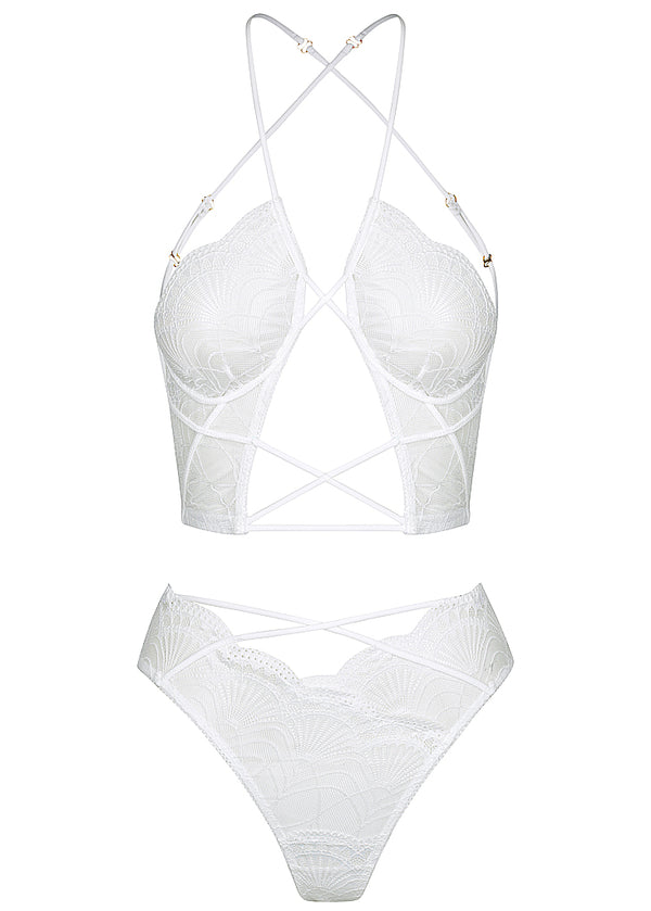 Emerson set white - Forever and a day intimates