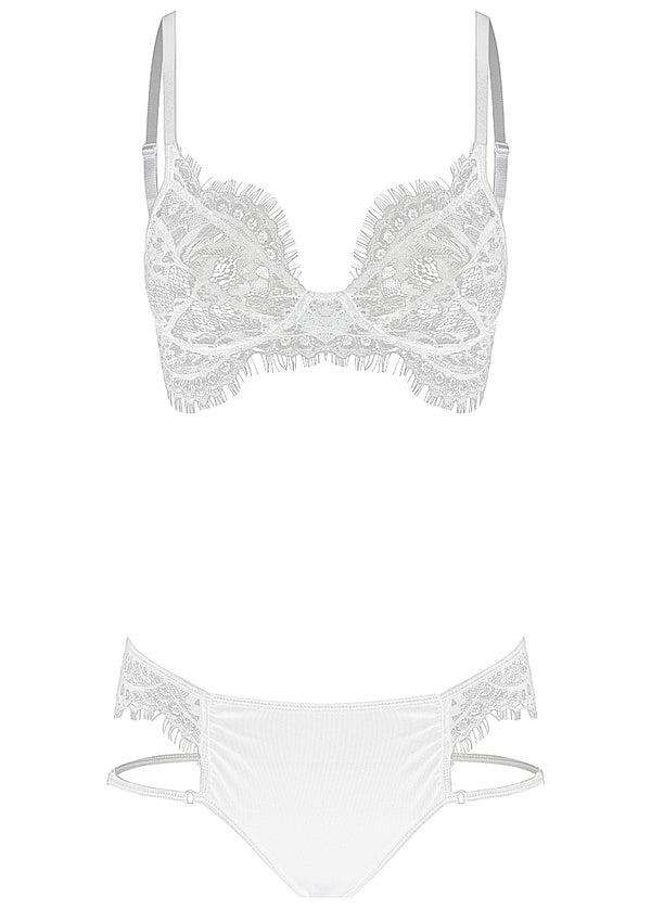 Josie set white - Forever and a day intimates