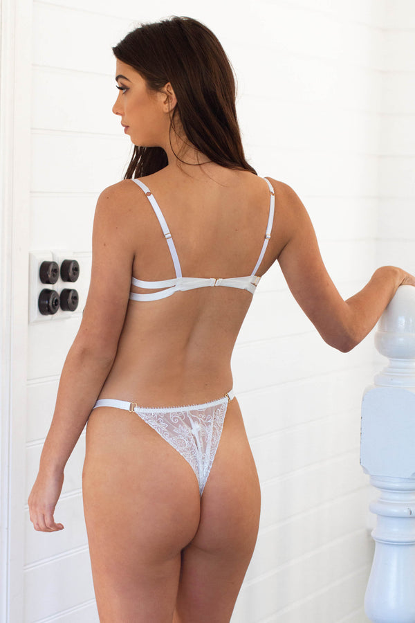 Loren Bottom White - Forever and a day intimates