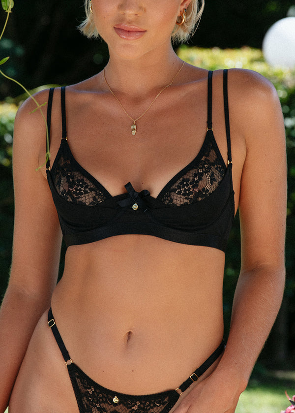 Bailey Bra Black