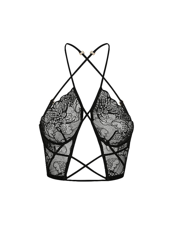 Emerson Bra Black - Forever and a day intimates