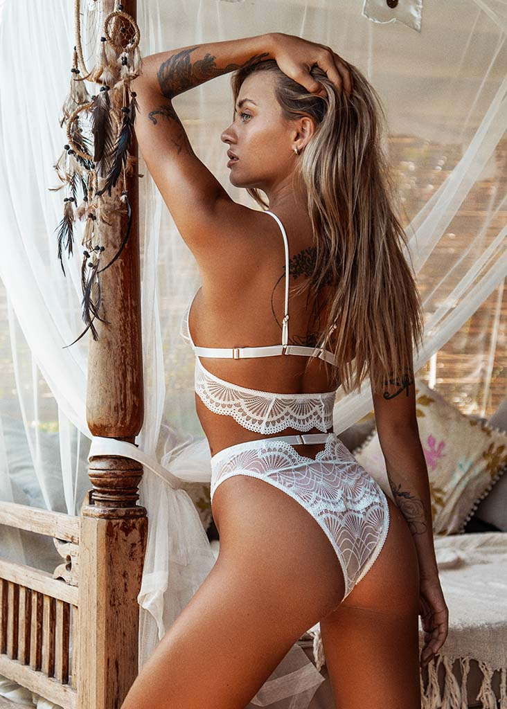 Emerson Bottom White - Forever and a day intimates