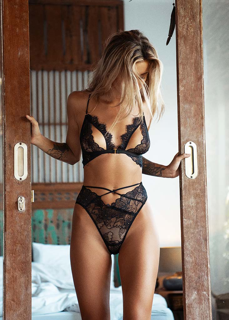 Marley Bra Black - PRE ORDER - Forever and a day intimates