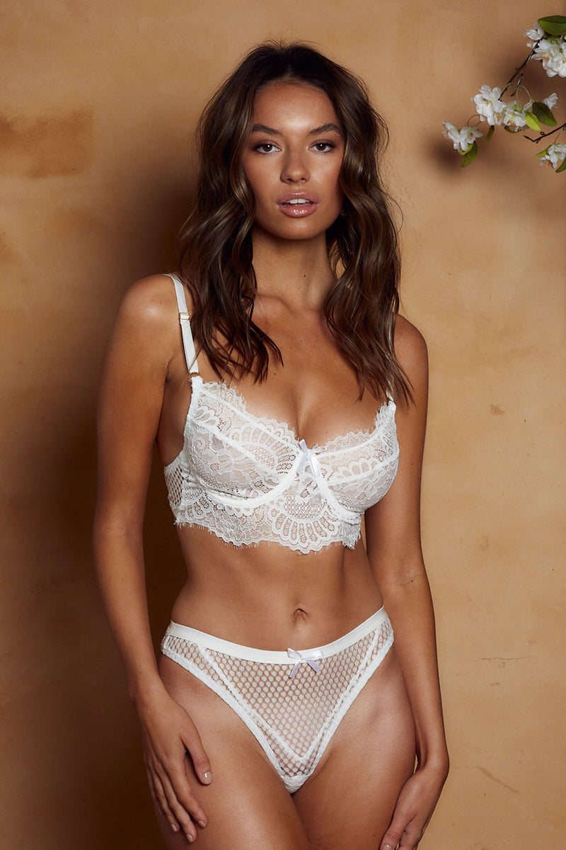 Madeleine Bottom White - Forever and a day intimates