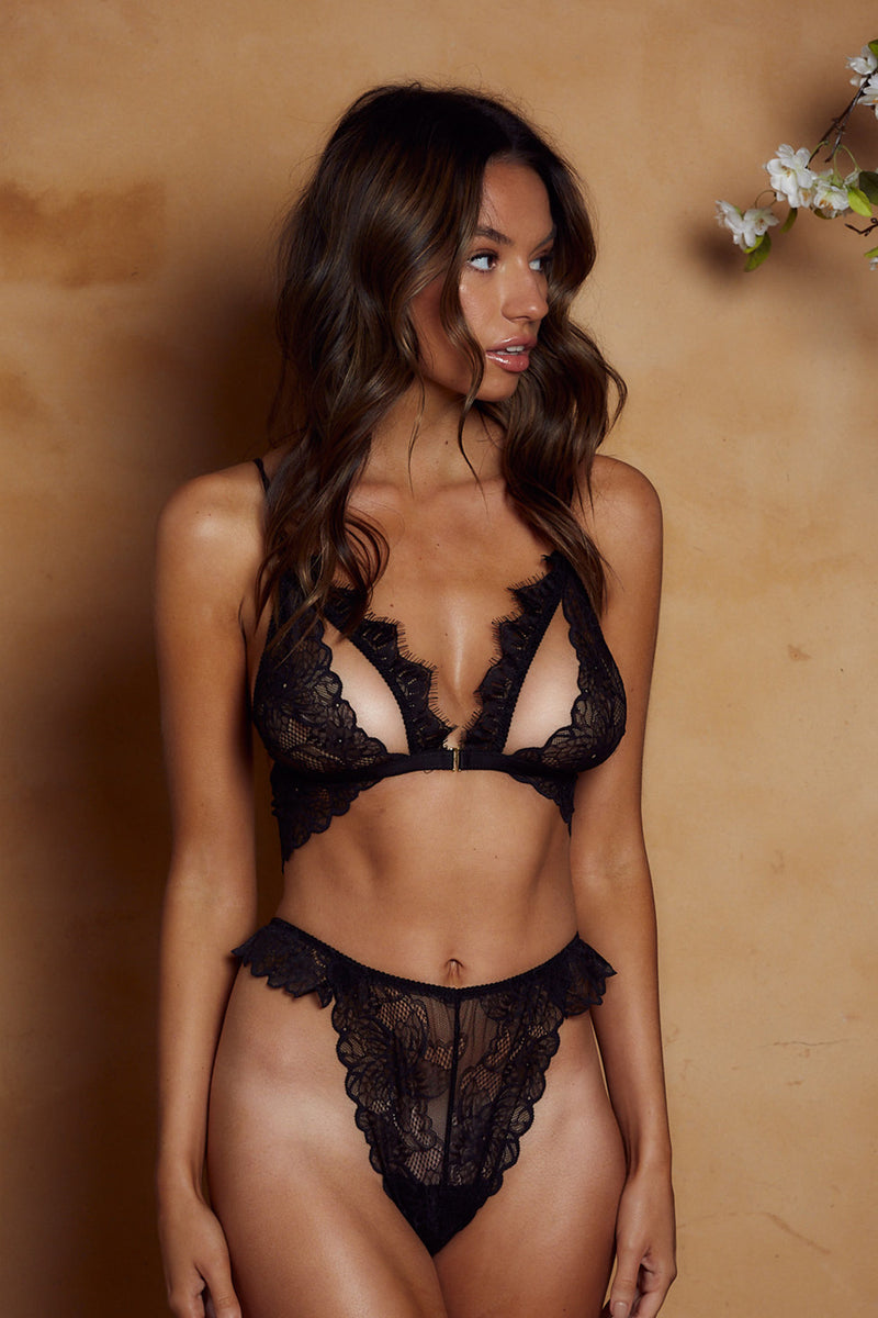 Marley Bottoms Black - Forever and a day intimates