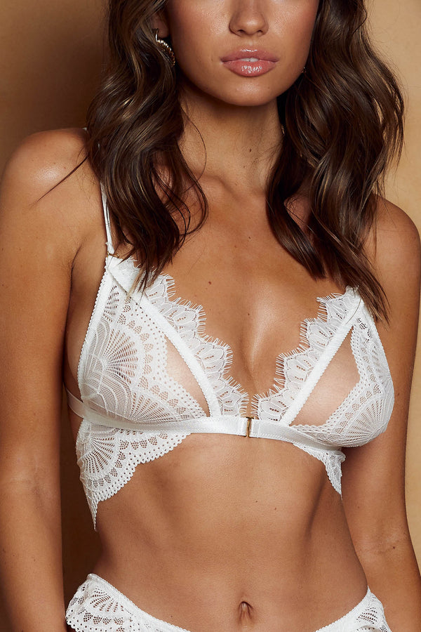 Marley Bra White - Forever and a day intimates