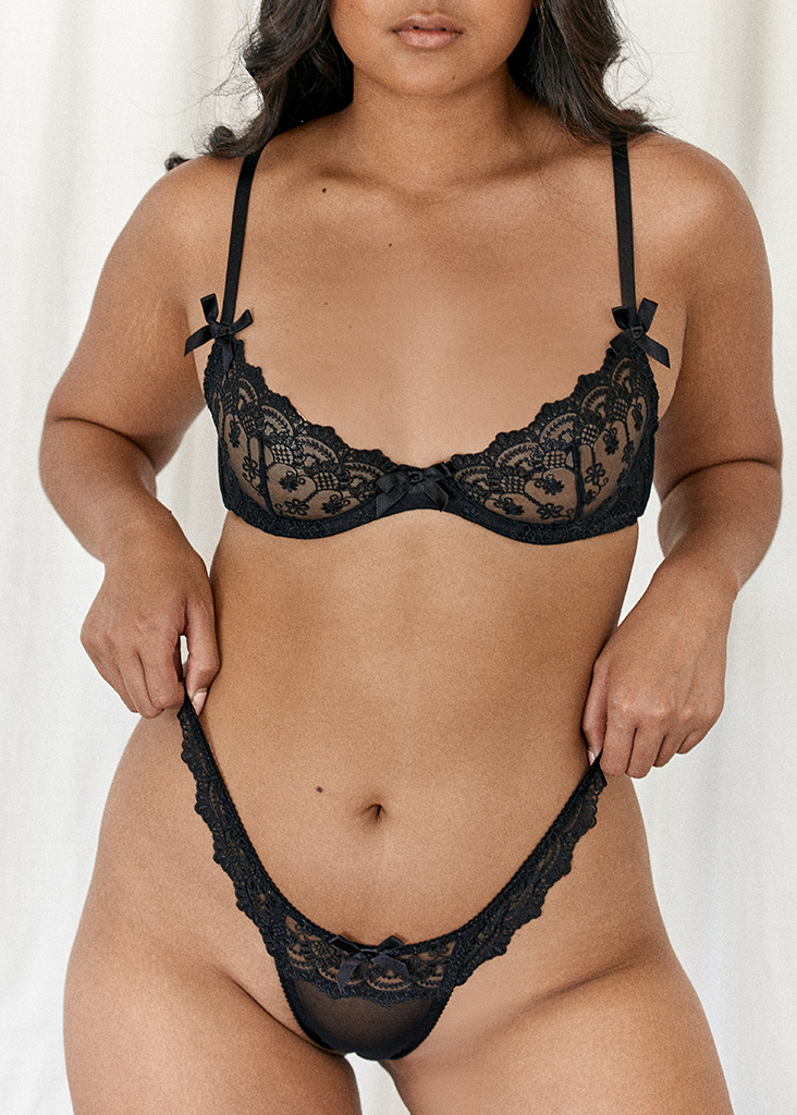 Riley Bra Black