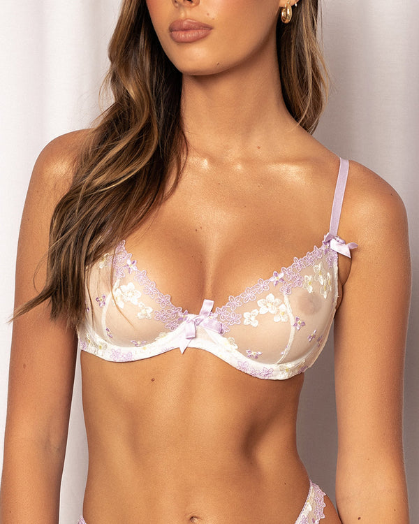 RILEY BRA LILAC