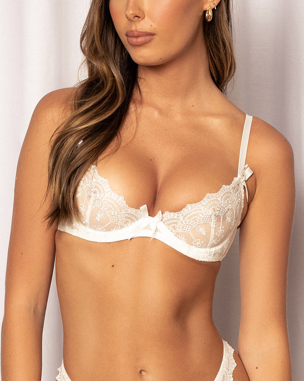 RILEY BRA WHITE