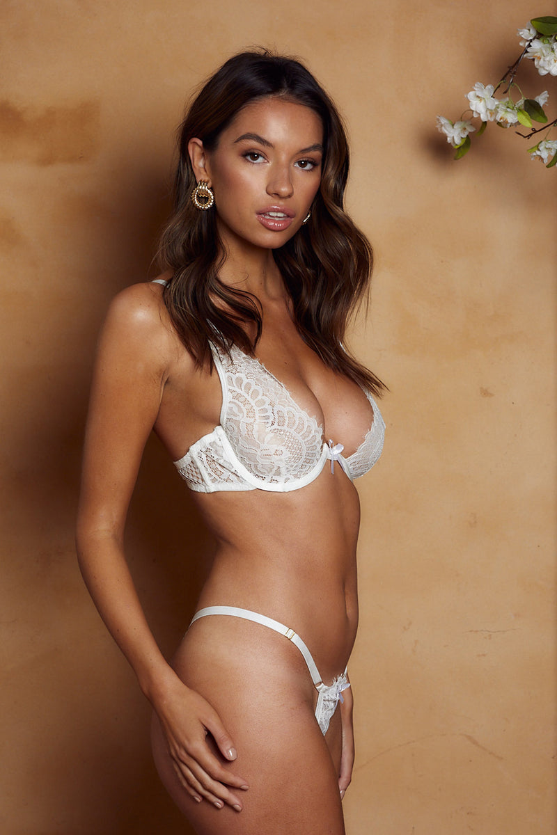 Stacey Bottoms White - Forever and a day intimates
