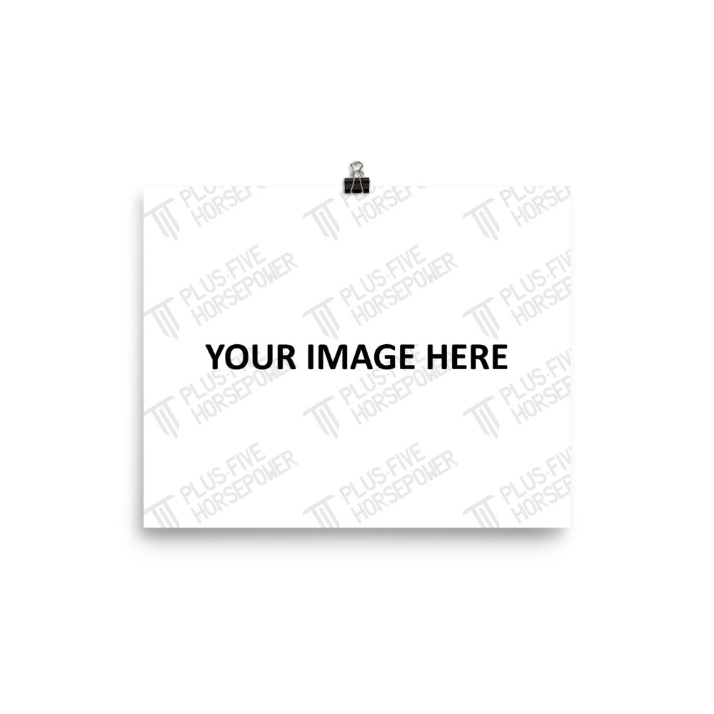 CUSTOMIZABLE LUSTER PAPER POSTER (HORIZONTAL)