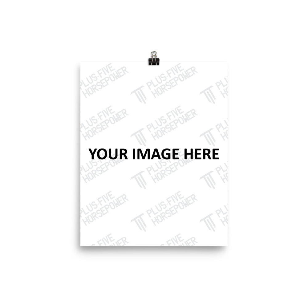 CUSTOMIZABLE LUSTER PAPER POSTER (VERTICAL)