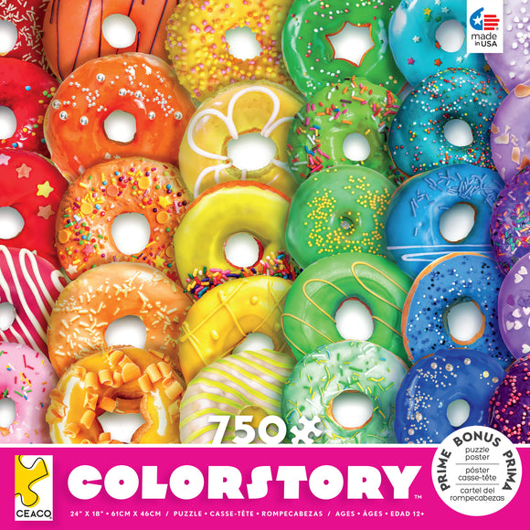 Colorstory - Donuts- 750pc