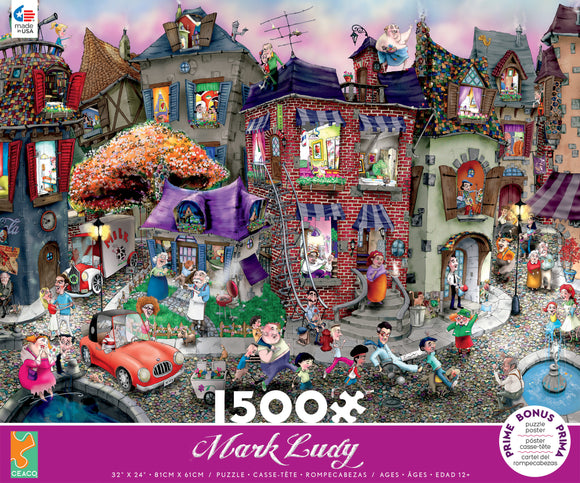 Mark Ludy Cartoon Art - 1500pc