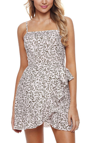 Image of Ruffle Wrap Floral Sundress