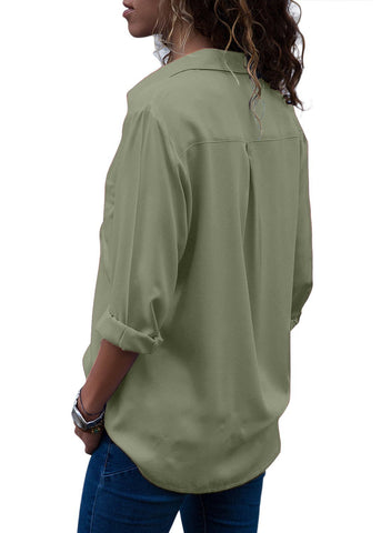 Image of Button Down Casual Work Shirt